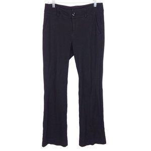 Cabi Top Notch Knit Black Career Business Trousers